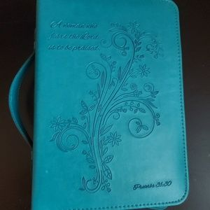 Turquoise Bible case